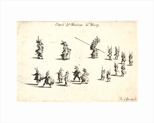 Entree de M. de Macey, 17th century by Jacques Callot