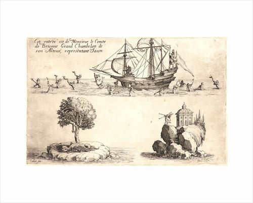 Entree de M. de Brione, 17th century by Jacques Callot