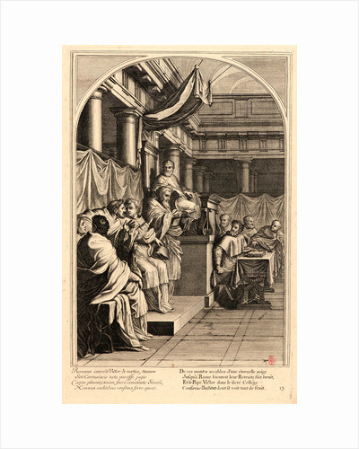 The Life of Saint Bruno, or The Founding of the Carthusian Order, Plate 13, 17th-18th century by Anonymous