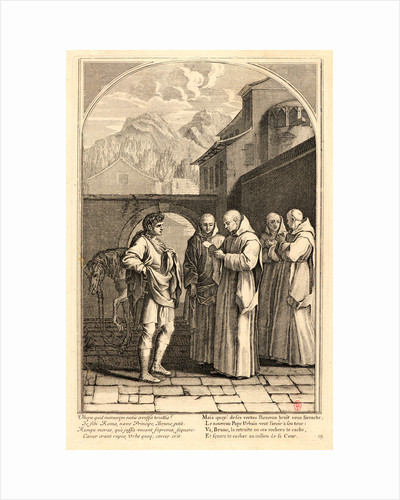The Life of Saint Bruno, or The Founding of the Carthusian Order, Plate 15, 17th-18th century by Anonymous