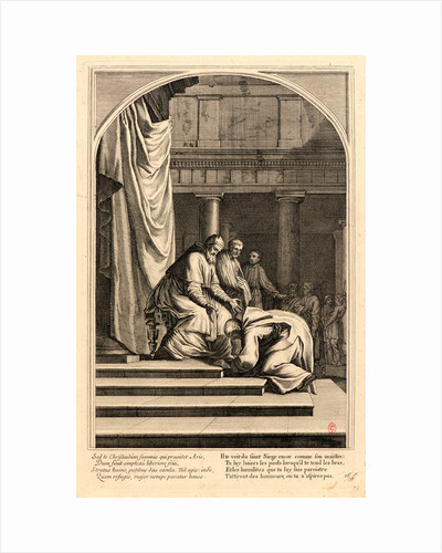 The Life of Saint Bruno, or The Founding of the Carthusian Order, Plate 16, 17th-18th century by Anonymous