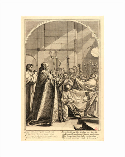 The Life of Saint Bruno, or The Founding of the Carthusian Order, Plate 3, 17th-18th century by Anonymous