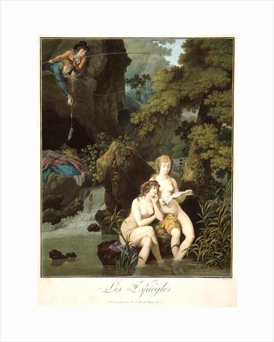 Mischievous Boys (Les Espiègles), ca. 1785-1789 by Charles-Melchior Descourtis
