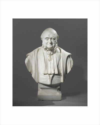 Bust dr. Nicolaas Beets, literaire man by Cornelis Beets
