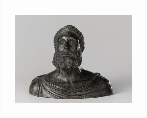 Bust of a Classical philosopher by Severo Calzetta da Ravenna