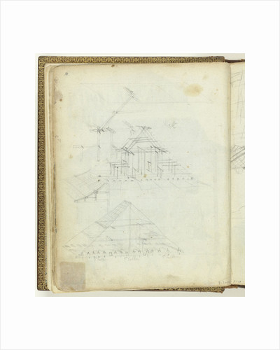 Sketch of a roof by Jan Brandes
