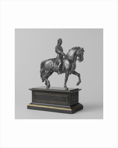 Equestrian statue of Stadtholder-King William III by William Low