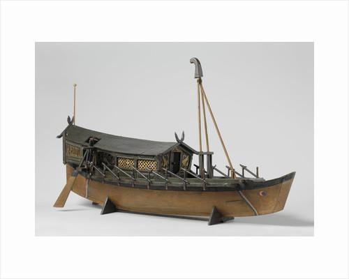 Model of an Oriental vessel by Anonymous