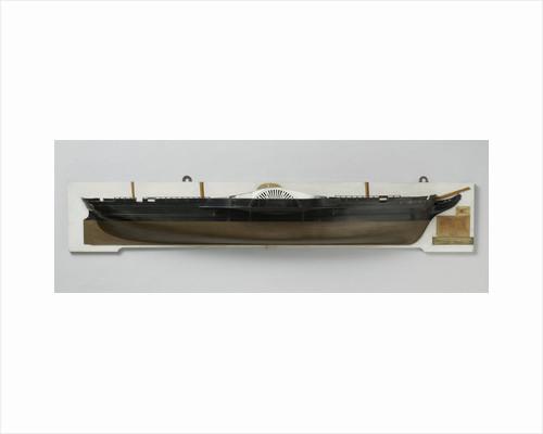 Half Model of the steamer Etna by Rijkswerf Vlissingen