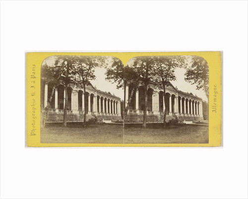 Baden-Baden (The Grand Duchy Baden) Facade of the Trinkhalle Germany by Hippolyte Jouvin
