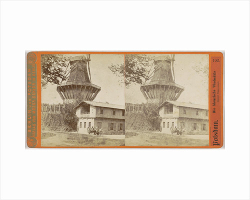 Historic Mill, behind Sanssouci Palace Potsdam near Berlin Germany by Moser Senior