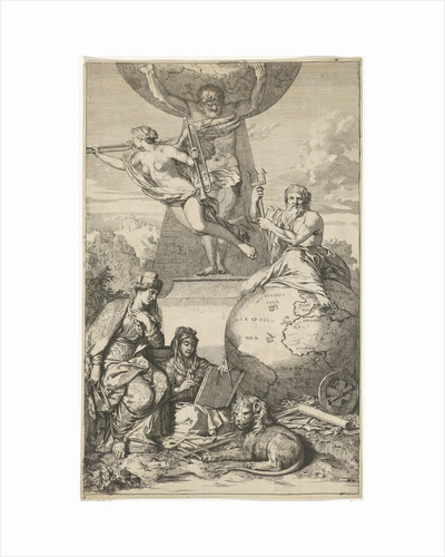 Atlas carrying the world on his shoulders by Gerard de Lairesse