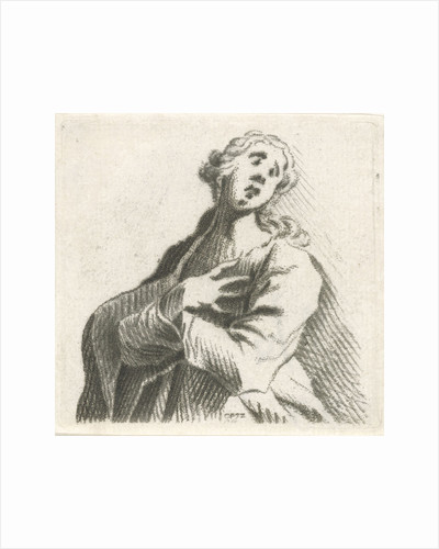 In despair by Caspar Jacobsz. Philips