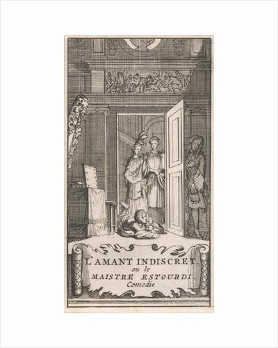 Title page for The Lover Indiscret, ou le Maistre Estourdi in, P. Quinault, Le Theatre, Part II, 1697 by Anonymous