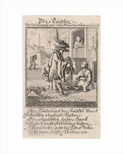 Clothes buyer, profession, Caspar Luyken by Anonymous