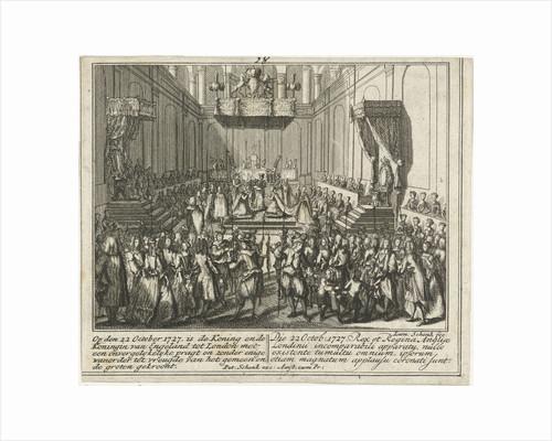 Coronation of George II by Adolf van der Laan