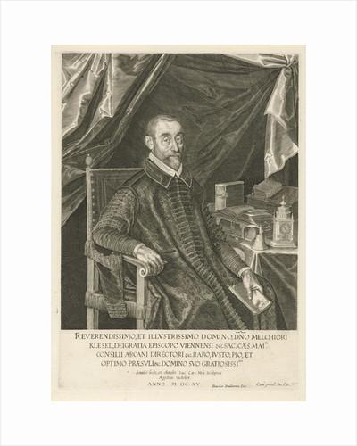Portrait of Melchior Klesel by Dancker Danckerts
