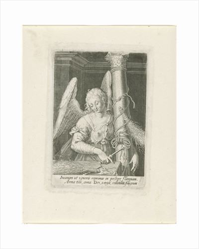 Angel with the column by De Lons