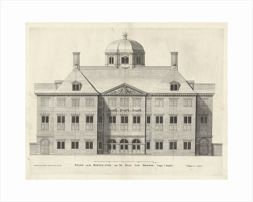 Rear of Palace Huis ten Bosch The Netherlands by Pieter Nolpe