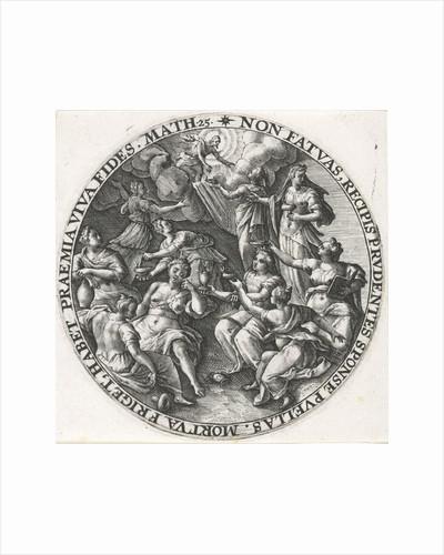 Parable of the five wise and five foolish virgins by Crispijn van de Passe I