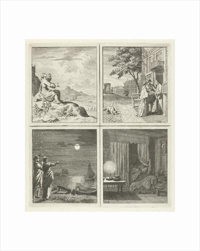 Heaven Jewelry Moon and stars Night's Sleep by Cornelis van Noorde