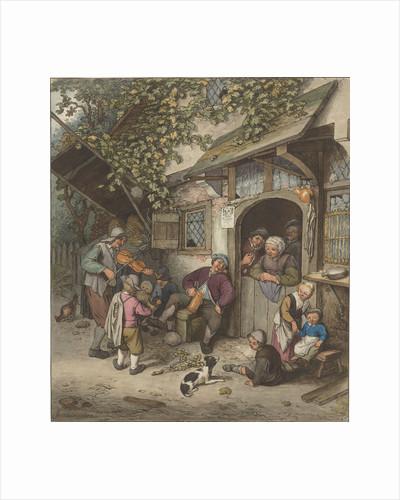 Violin Player for an inn by Cornelis Ploos van Amstel