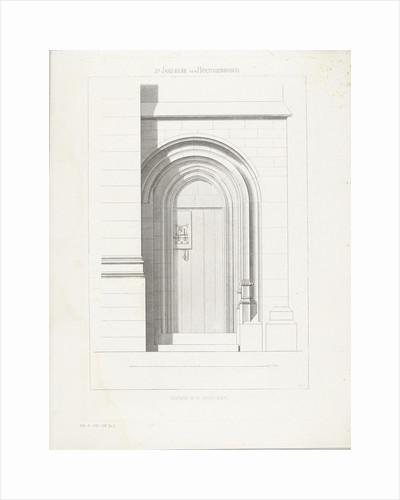 Door with hinges by Petrus Johannes Arendzen