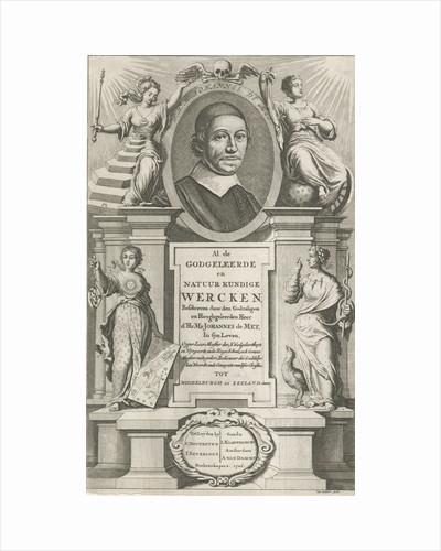 Portrait of Johannes de Mey by Anonymous