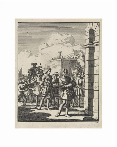 Execution of the Earl of Argyll by Jan Luyken