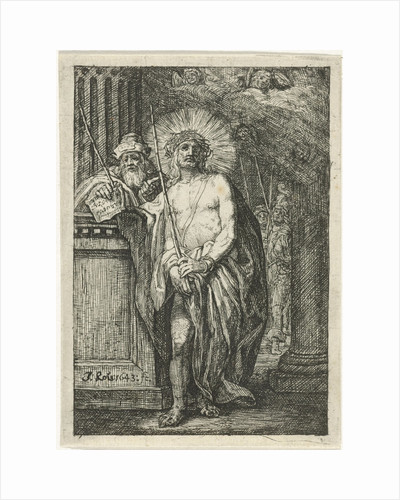 Christ with the crown of thorns by Jacob Lois