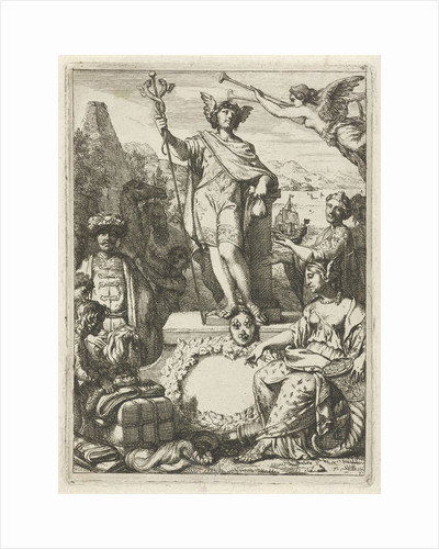 Allegory on trade with Mercury by Gerard de Lairesse