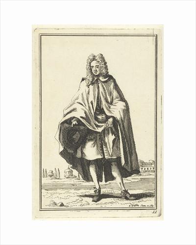Man in cape by Adolf van der Laan