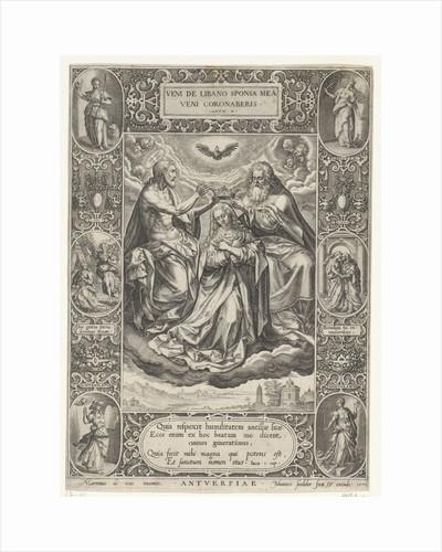 Coronation of Mary by Johann Sadeler I