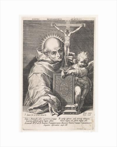 Saint Bernard of Siena by Johann Sadeler I