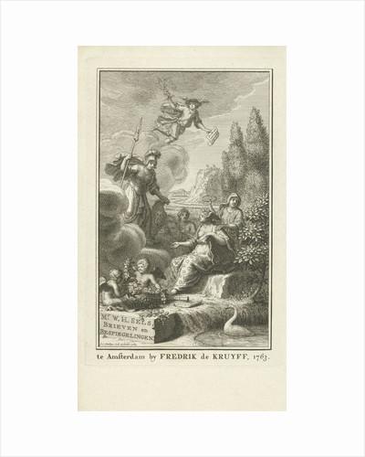 Poetry receives Minerva by Jan Caspar Philips