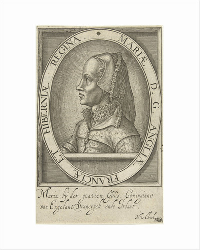 Portrait of Mary Tudor by Anonymous