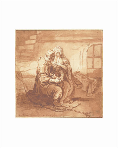 The Roman kids love by Rembrandt Harmensz. van Rijn