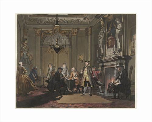 Nobody spoke by Cornelis Troost