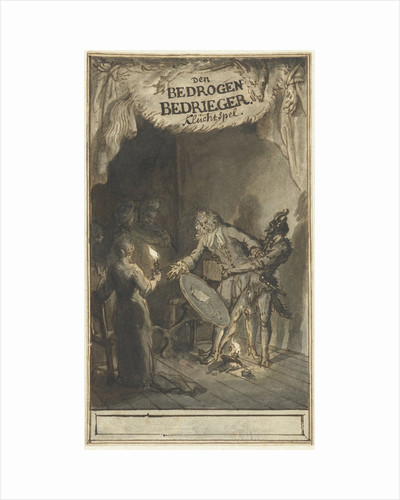 Design for the title page of the farce of The Deceived by Bernard Picart