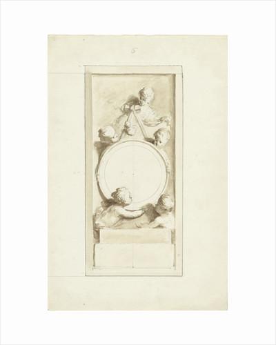 Putti around a medallion by Dionys van Nijmegen