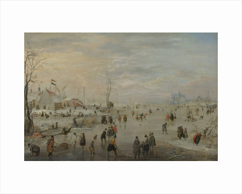 Entertainment on the Ice by Hendrick Avercamp