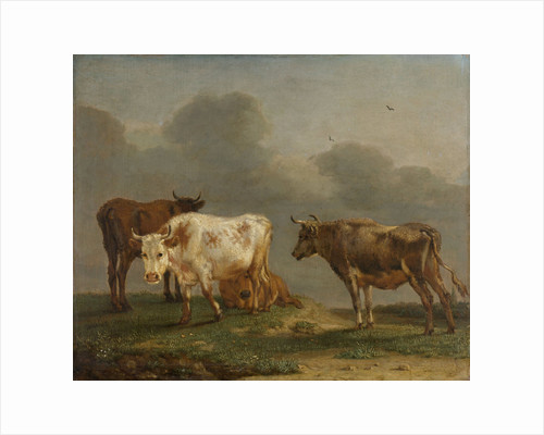Four Cows in a Meadow by Paulus Potter