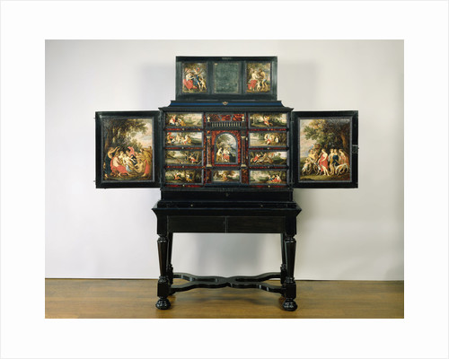 Art Cupboard, painted with mythological scenes by Anonymous