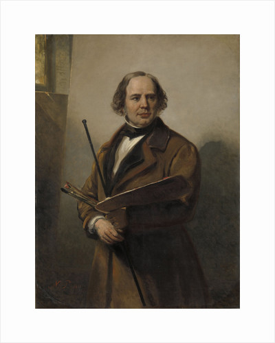 Jan Willem Pieneman, Painter, Father of Nicolaas Pieneman by Nicolaas Pieneman