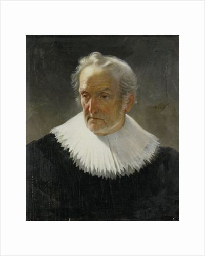 An old Man in 17th-century Dress by Christiaan Julius Lodewijk Portman