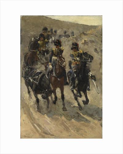 The Yellow Riders by George Hendrik Breitner