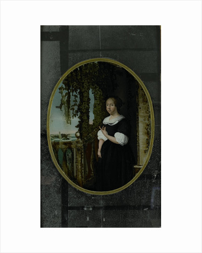 Portrait of a Woman in 17th-century Clothing by Anonymous