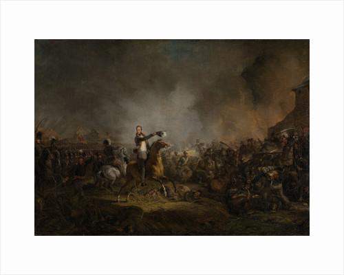 The Prince of Orange at Quatre Bras, 16 June 1815 by Jan Willem Pieneman