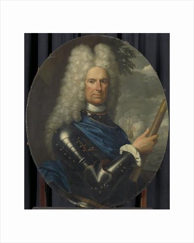 Portrait of Rear-Admiral Arent van Buren by Christoffel Lubienitzki