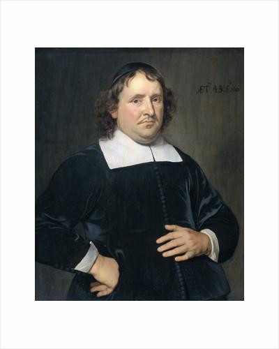 Thomas Pots, Clergyman at Vlissingen (Flushing) by Hendrick Berckman